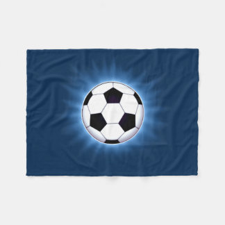 Soccer Ball Small Fleece Blanket