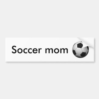 soccer-ball, Soccer mom Bumper Sticker