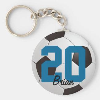 Soccer Ball Sports Keychain