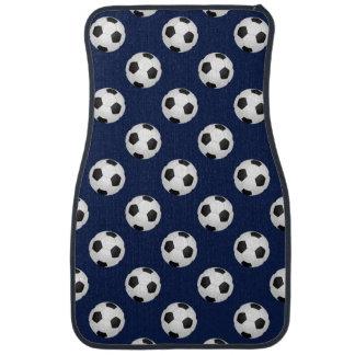 Soccer Ball Sports Pattern Car Mat