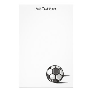 Soccer Ball Sports Stationery