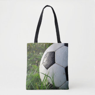 Soccer Ball Sports Team Soccer Mom Tote Bag