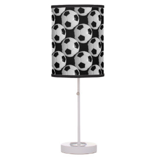 Soccer Ball Style Pattern Table Lamp