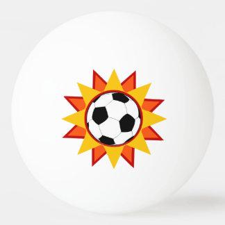 Soccer Ball Sunburst