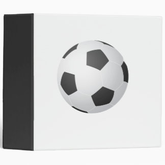 Soccer Ball Team Sports Game Coach Avery Binder