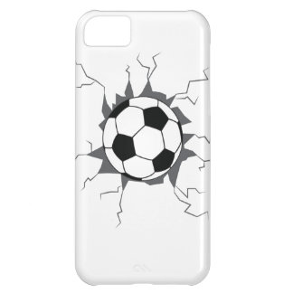 Soccer Ball through wall. iPhone 5C Covers