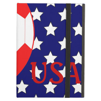 Soccer Ball USA Patriotic Theme iPad Air Case