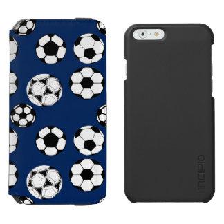 Soccer balls boys blue incipio watson™ iPhone 6 wallet case