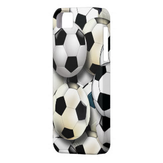 Soccer Balls Collage iPhone 5 Case