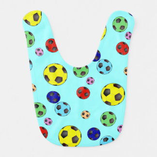 Soccer Balls In Many Colors Bibs