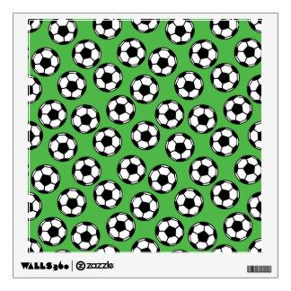 Soccer Balls Pattern Wall Decal