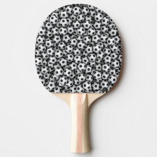 Soccer Balls Ping Pong Paddle