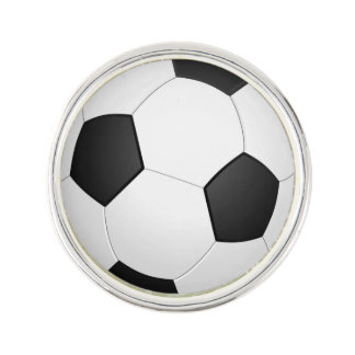 Soccer Balls Sports pattern Lapel Pin