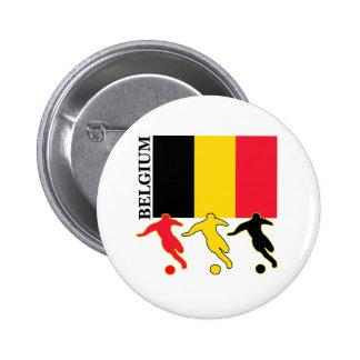 Soccer Belgium 2 Inch Round Button