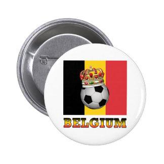 Soccer Belgium Button