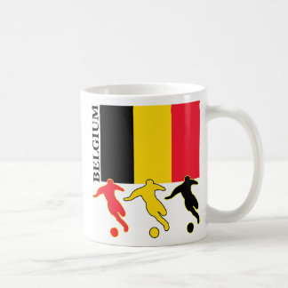 Soccer Belgium Coffee Mug