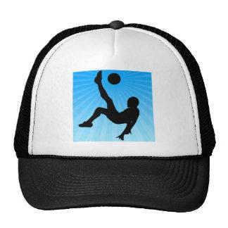 Soccer Bicycle Kick Trucker Hat