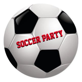 Soccer Birthday Party Invite