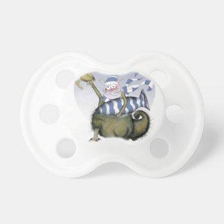 soccer blues kitty pacifier