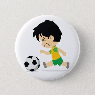Soccer Boy 2 Inch Round Button