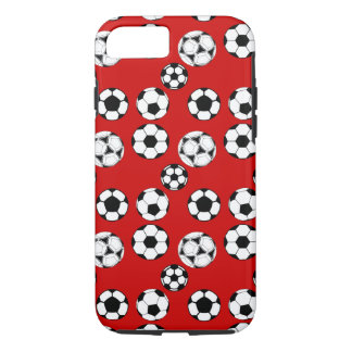 Soccer boys red iPhone 8/7 case