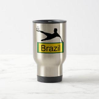 Soccer/Brazil Coffee Mug