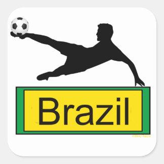 Soccer/Brazil sticker