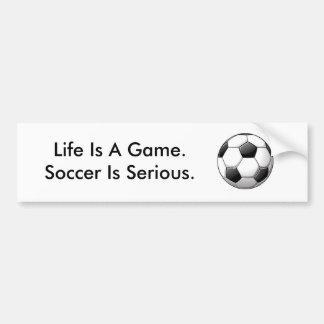Soccer Bumper Sticker