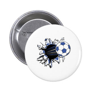 Soccer Burst T-shirts and Gifts Buttons