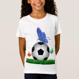 Soccer, butterflies T-Shirt