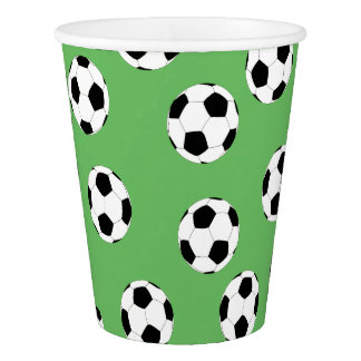 Soccer by The Happy Juul Company Paper Cup