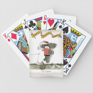 soccer captain red team bicycle playing cards