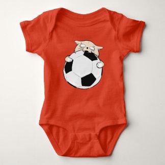 Soccer Cat Baby T-Shirt