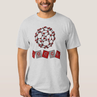 Soccer Chemical Elements with Buckyball! Tee Shirt