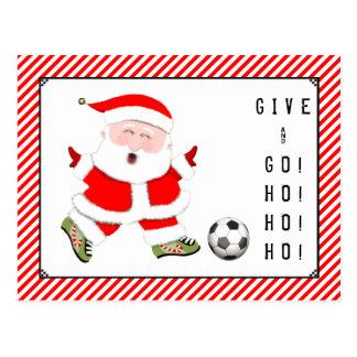Soccer Christmas cards