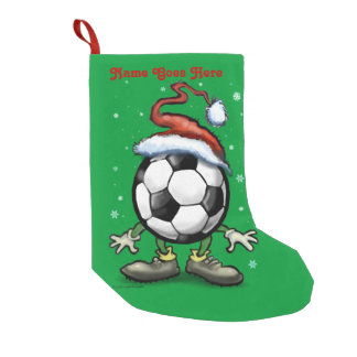 Soccer Christmas Small Christmas Stocking