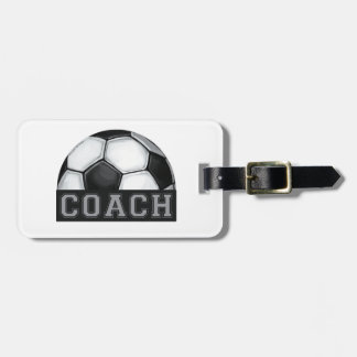 Soccer Coach Bag Tag