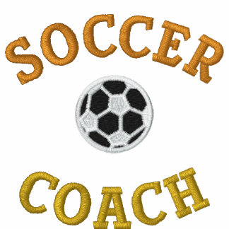 Soccer Coach Embroidered Polo Shirt