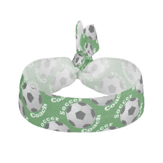 Soccer Coach Hair Tie
