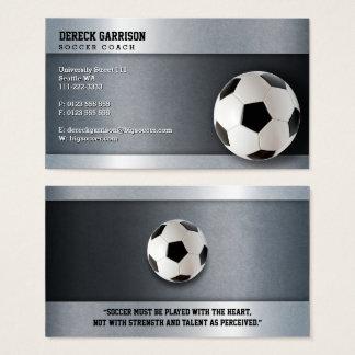 Soccer Coach | Modern Sports Gifts Business Card