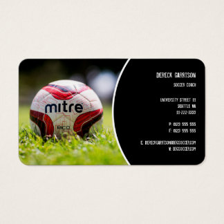 Soccer Coach | Sports Gifts Business Card