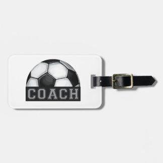 Soccer Coach Travel Bag Tag