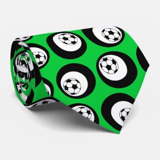 soccer color customizable tie