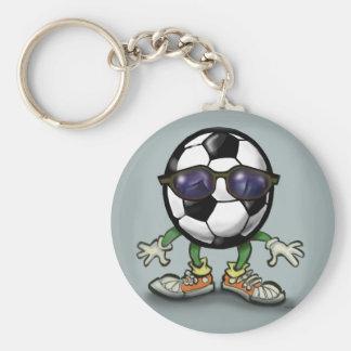 Soccer Cool Keychain