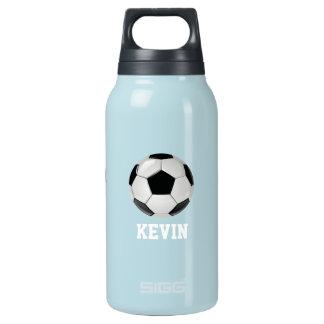 Soccer Custom Insulated Water Bottle