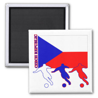 Soccer Czech Republic Magnet