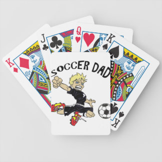 SOCCER DAD BICYCLE PLAYING CARDS