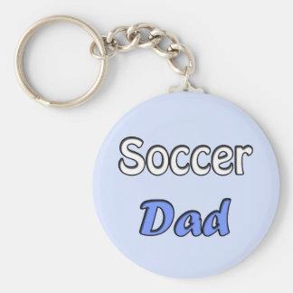 Soccer Dad Porte-clé Rond