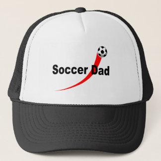 Soccer Dad (Red/Blk) Trucker Hat