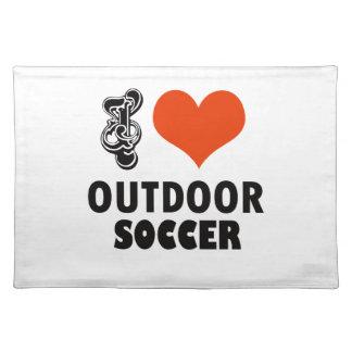 soccer design placemat